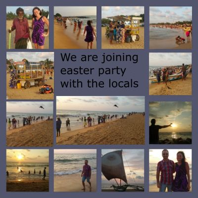 35 easter party Negombo